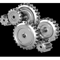 Transmission flexible moteur